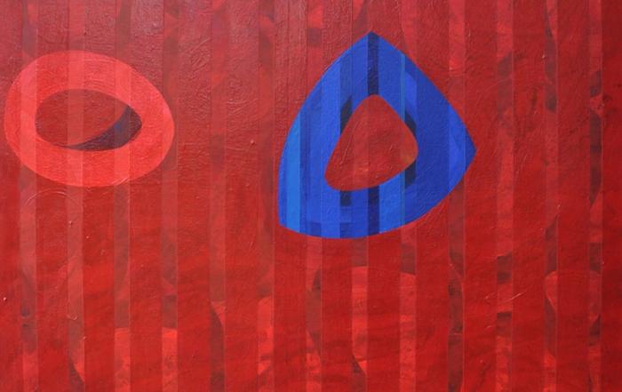 Acryl auf Cotton Duck, 120 x 100 cm